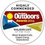 Highly commended award from The great outdoors 2016